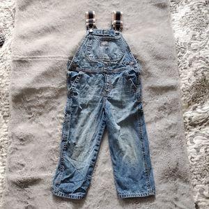 Oshkosh Blue Denim Overalls Size 3T